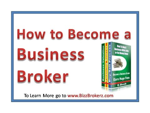 How to Become a Business Broker & Earn up to $100K Yearly