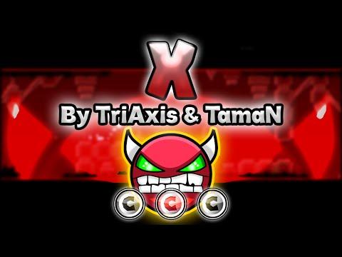 Geometry Dash [2.0] (Demon) - X By TriAxis & TamaN - GuitarHeroStyles