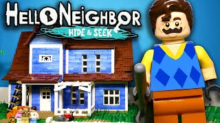 LEGO Hello, Neighbor: Hide and Seek / Stop Motion, Animation
