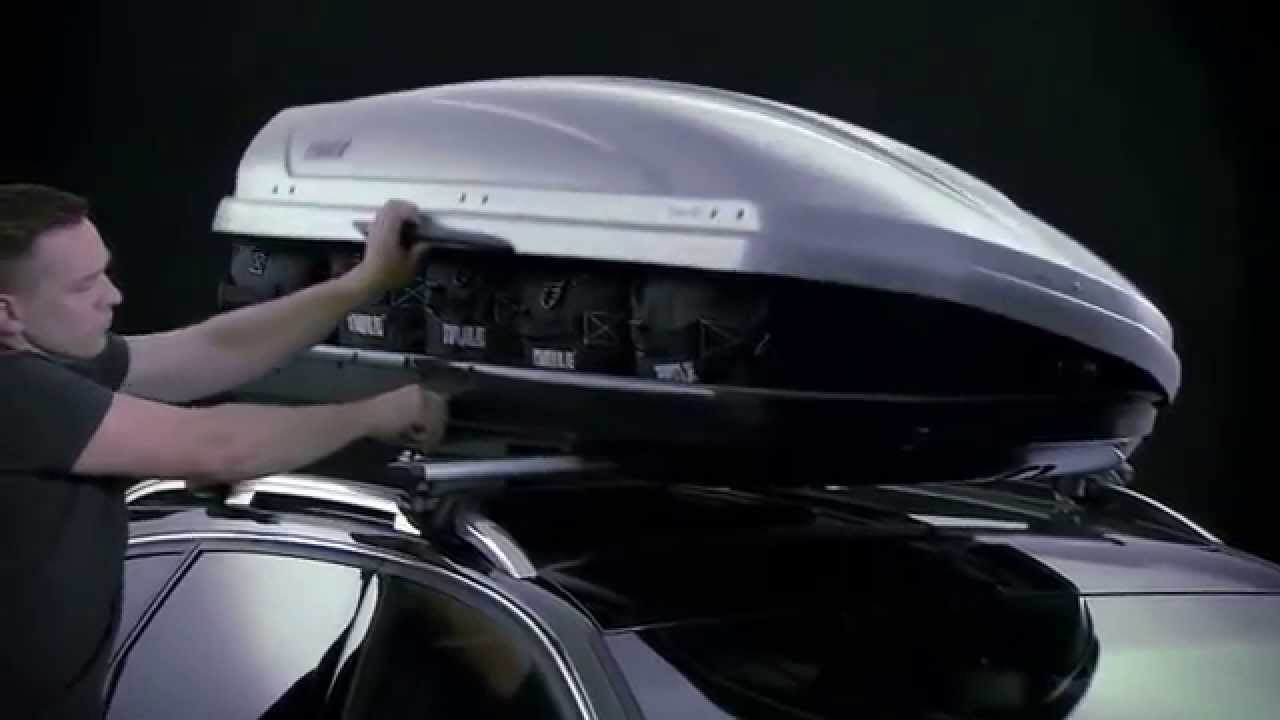 Roof Box - India - Thule Motion - YouTube