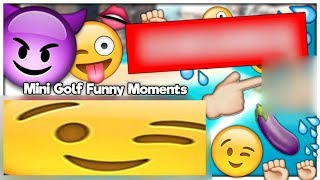FUNNY MOMENTS: MINI GOLF GONE SEXUAL!! WARNING: HOT - TOWER UNITE #5 MINI GOLF (Golf With Friends)