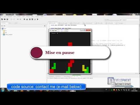 Tetrix 2D - ADA language using GPS