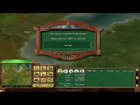 Railroad Tycoon 3 how  Cheats, Cheat Codes 2018 |