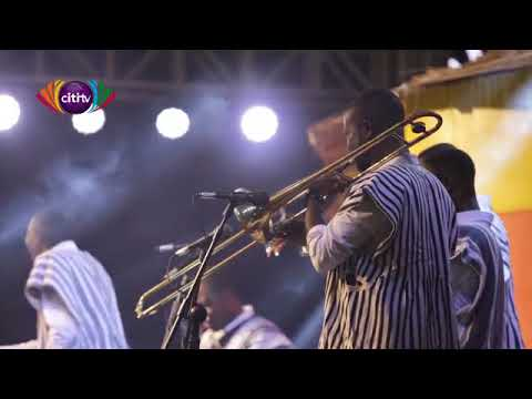 Pure Ga music delivered by Evergreen Dance Band at Accra Music Expo