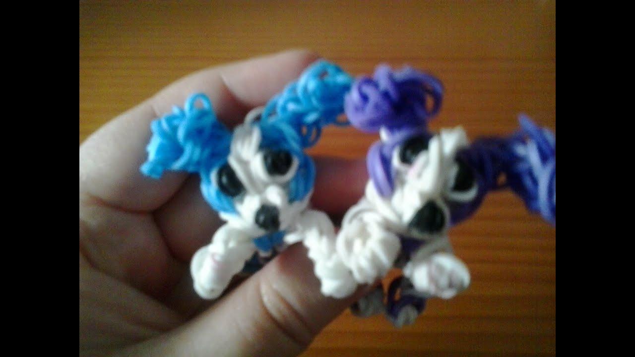 Como hacer un perro con gomitas ligas con telar youtube - Como hacer figuras con chuches ...