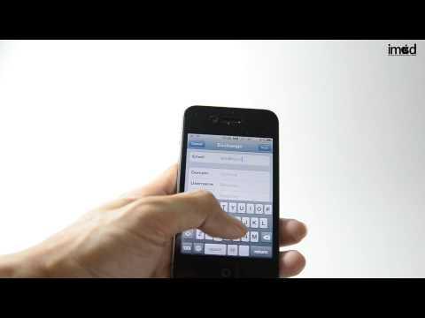 การลบรายชื่อ contact ออกจาก iPhone  - iMod 2013