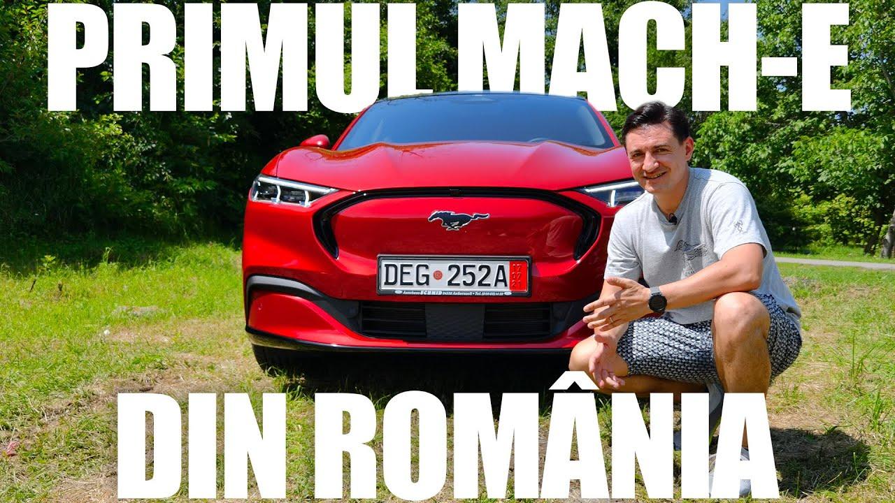 Primul Mustang Mach-E din România! Testat, aprobat! - Cavaleria.ro