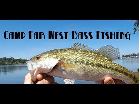 Camp Far West Spotted Bass Fishing #DoItMolds #SpottedBass #EClampusVitus