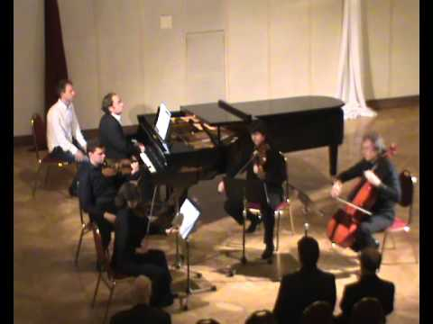 Arnold Bax Piano Quintet 2nd movt Live at Levoca