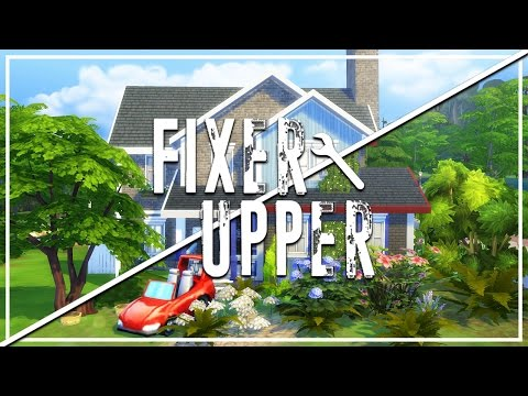 FORECLOSED MESS // The Sims 4: Fixer Upper - Home Renovation