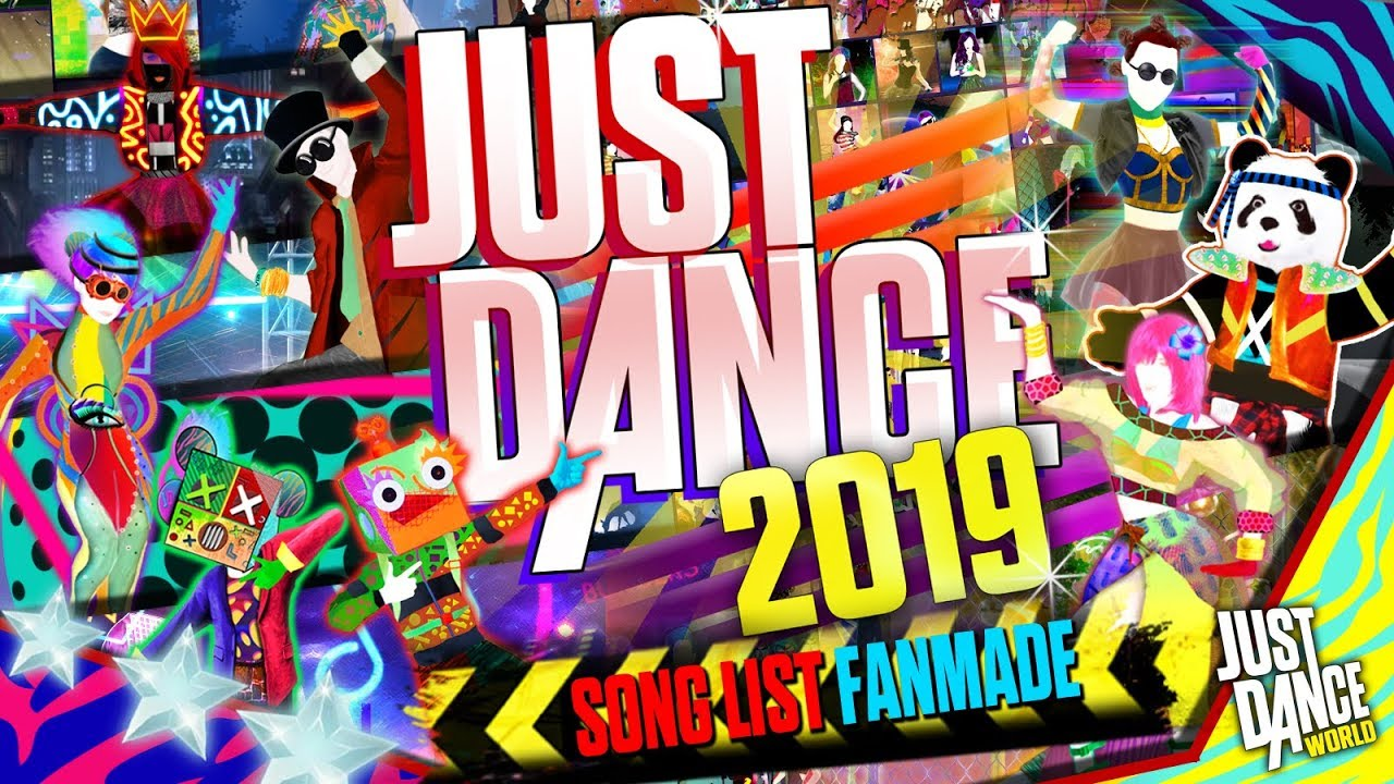 Just Dance 2019 Song List Fanmade Youtube
