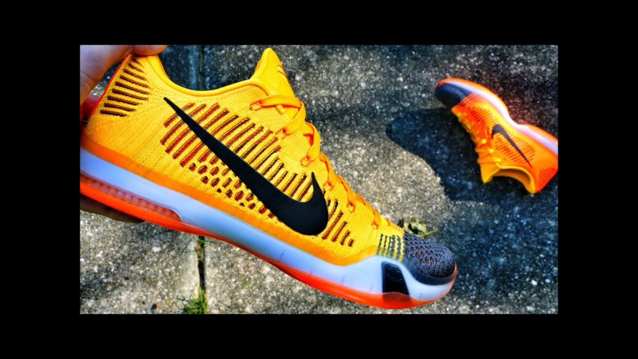 reputable site 1eae7 10af2 Nike Kobe 10 Elite Low Rivalry - Review + On Foot
