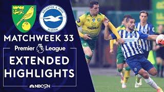 Norwich City v. Brighton   PREMIER LEAGUE HIGHLIGHTS   7/4/2020   NBC Sports