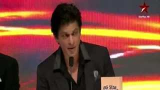 Shahrukh Khan insults Big Star Award Trophy