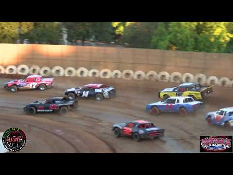 Placerville Speedway July 13th, 2019 Pure Stocks Main Event Highlights