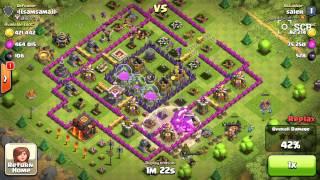 Clash of clans Biggest loot raid history ever !! 02/04/2014