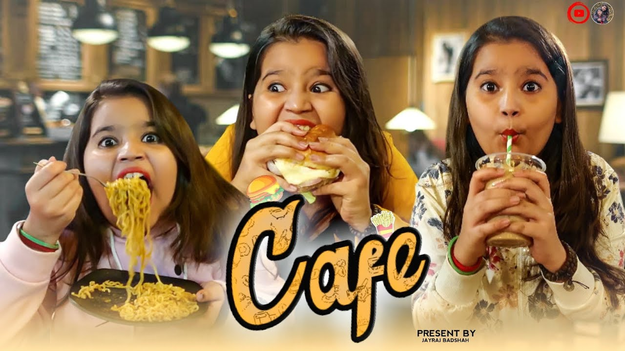 Types Of People in Cafe | કેફે | Cafe | Mom's Boys Cafe | Gujarati Video By Jayraj Badshah