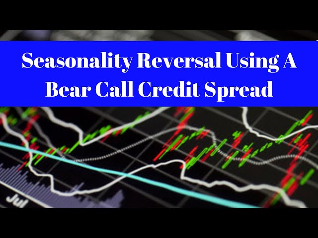 Seasonality Reversal Using A Bear Call Credit Spread on RUT