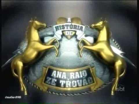 A História de Ana Raio e Zé Trovão | Vinheta de Abertura SBT 2010 (Versão II)