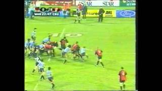 Crusaders Vs Waratahs rugby super 12 2002