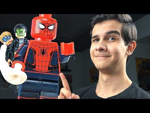 Человек-паук Lego 76015