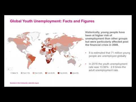 Global Youth Unemployment webinar