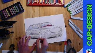 Bentley Bentayga speed draw Bentley Design speed drawing Bentley Bentayga 2015 FullHD 1080p