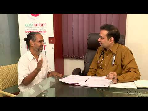 non surgical eecp treatment patient testimonial mr muthukrishnan healyourheart eecp treatment