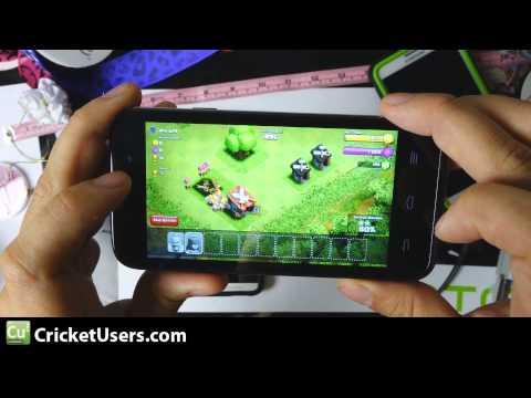 Cricket Wireless ZTE Source - Clash of Clans Demonstration