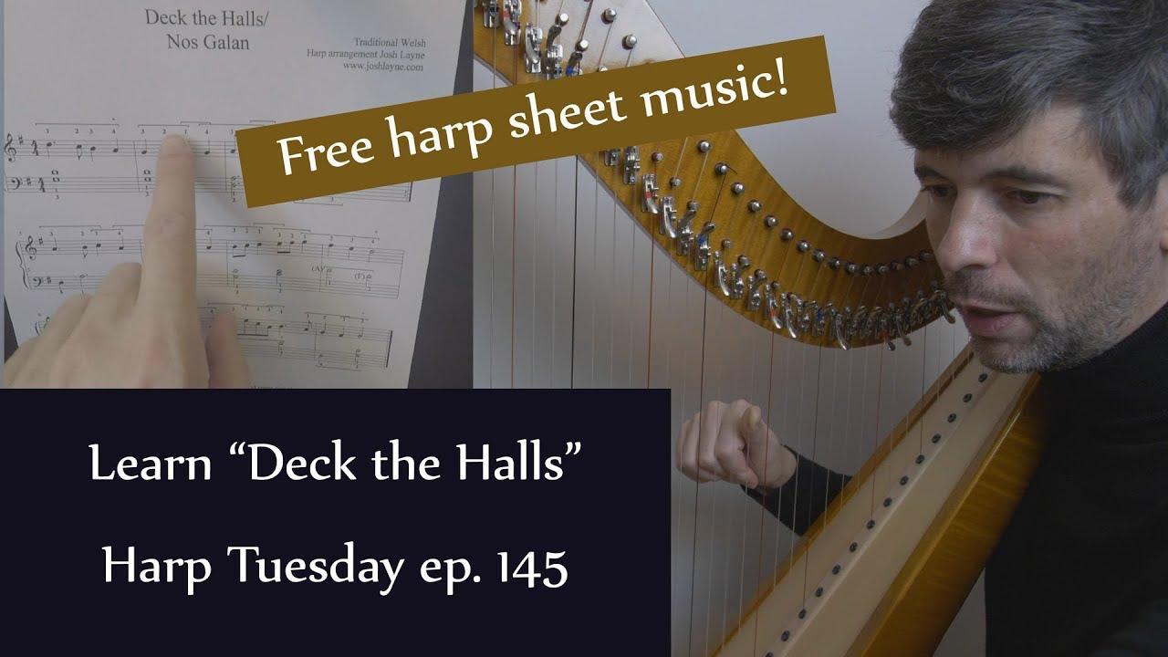 Free sheet music – Harp Tuesday