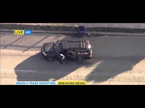 Take Off and Chase - San Bernardino California Shooting - Live Coverage