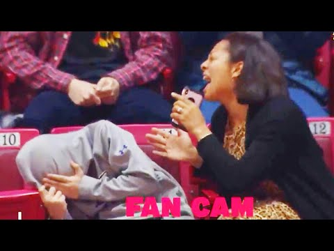 St. Pierre - Young Terps Fan Gets Royally Embarrassed By His Singing Mom