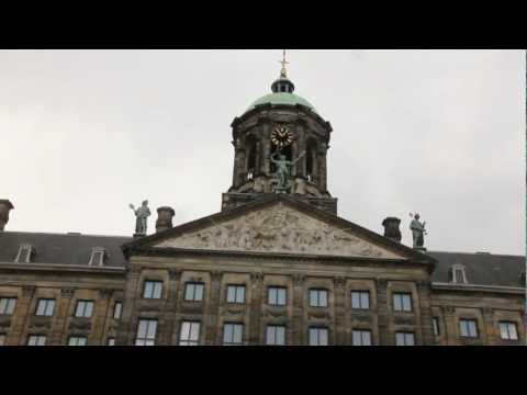Buildings in Amsterdam Holland Free stock footage