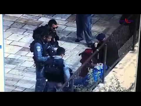 תיעוד: פיגוע הדקירה בשבת בשער שכם