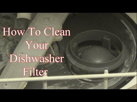 how to clean your dishwasher filter youtube. Black Bedroom Furniture Sets. Home Design Ideas