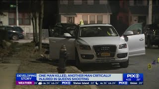 One man killed, another critically injured in Queens shooting