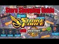 Marvel Strike Force- Shopping Guide...Supplies, Arena, Blitz and Raid Stores with Khasino