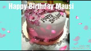 Happy birthday Mausi