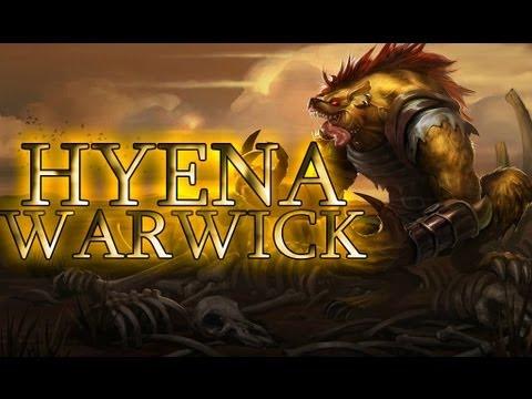 League Skins - Hyena Warwick (Ability Effects, Animations & Emotes)