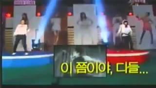[eng] Shinee judges funny dance contest (Snsd Kara Secret BEG)
