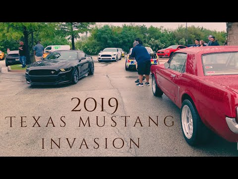 Texas Mustang Invasion 2019 Dallas Tx