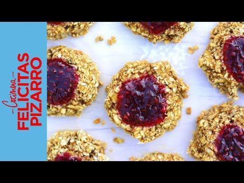 Cookies 4 Ingredientes | Felicitas Pizarro
