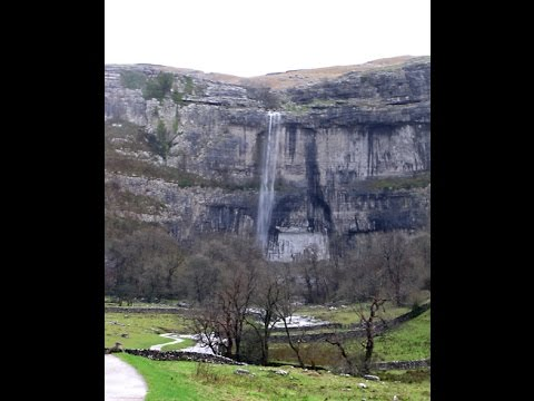 Malham Cove Waterfall
