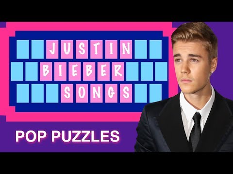 POP PUZZLES #5: Justin Bieber ★ Can you solve the puzzles before the time runs out?