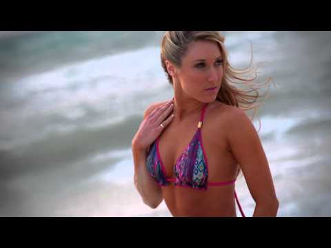 558b3968d9f3 2016 Dallas Cowboys Cheerleaders Swimsuit Calendar Shoot - Danielle ...