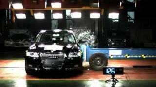 2010 Audi A6 (C6) NCAP Side Impact (KNCAP)