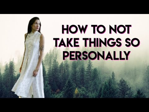 How To Stop Taking Things Personally (What's Mine vs What's Yours) - Teal Swan -