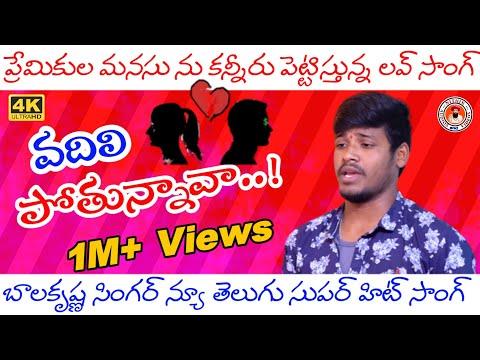 Vadali Pothunava Nannu Ontari Cheshava  Telugu Love Song  Private Songs  Nithin Audios And Videos