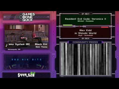 Resident Evil: Code: Veronica X by Pessimism in 1:43:06 - SGDQ2017 - Part 55