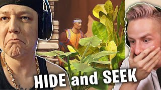 UNMÖGLICHES Hide and SEEK gegen MONTANABLACK in Fortnite